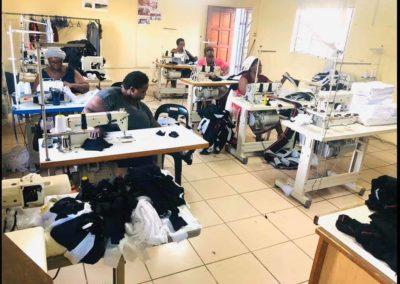 Light for Africa sewing masks