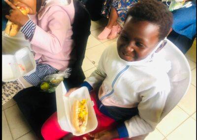 Back to Church Feeding the Children